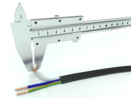 Как определить сечение кабеля на глаз