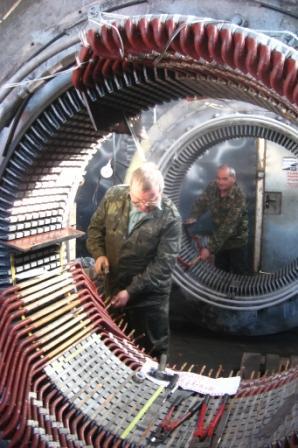 Капитальный ремонт электродвигателя
