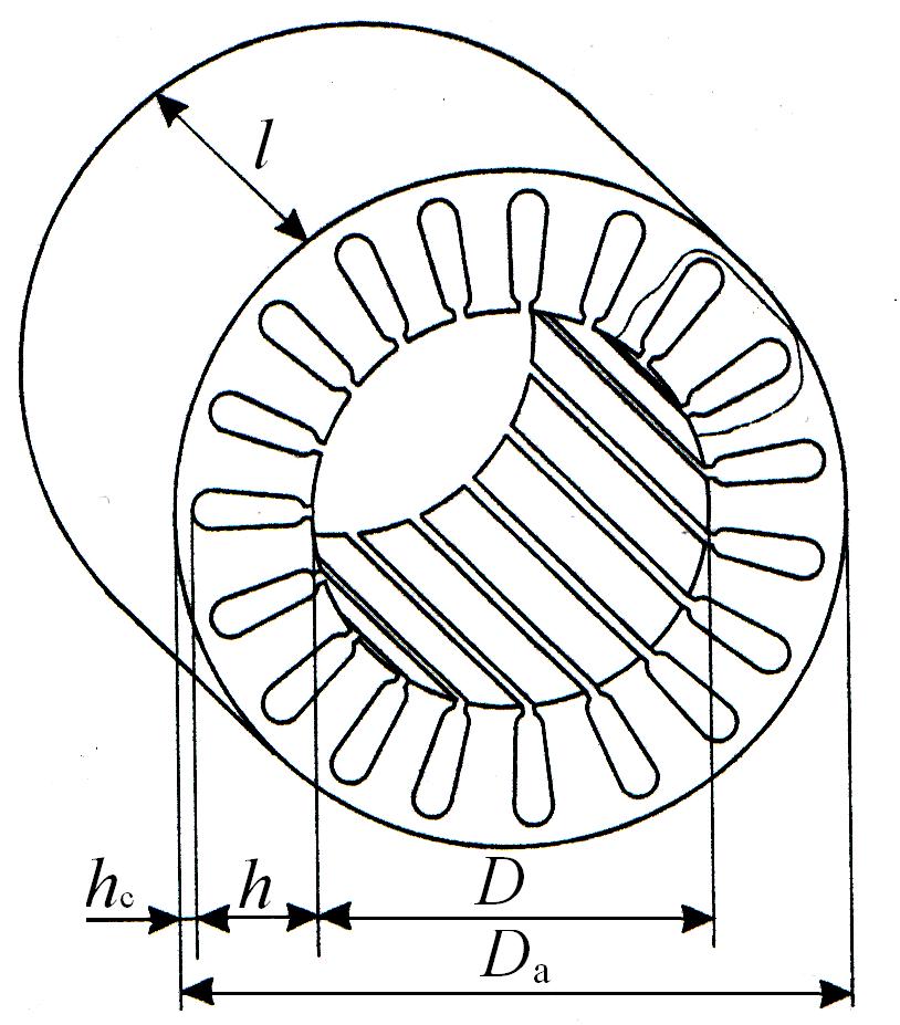 Расчёт обмотки электродвигателя