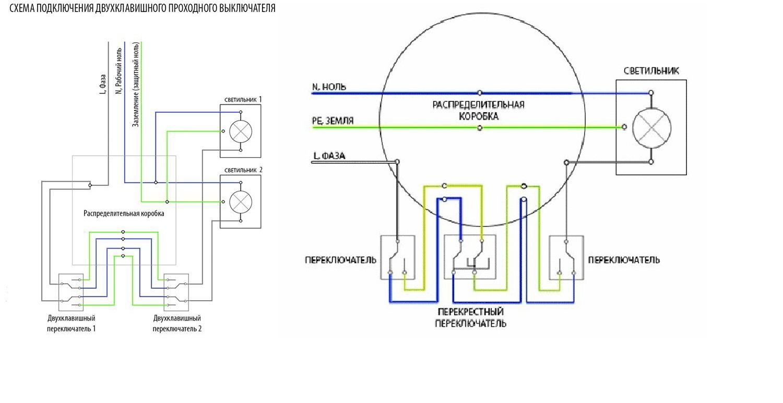 Фазный провод схема